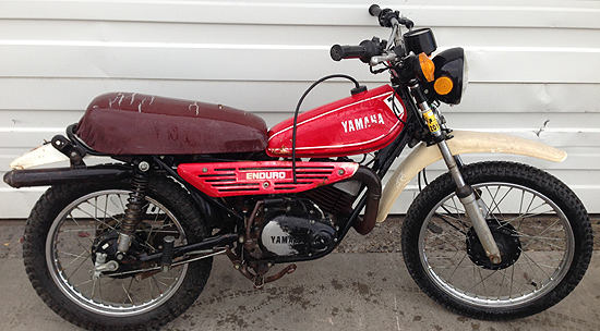 Ersatzteile Yamaha RS 100 DX 1Y8 1980 10 PS 74 kw