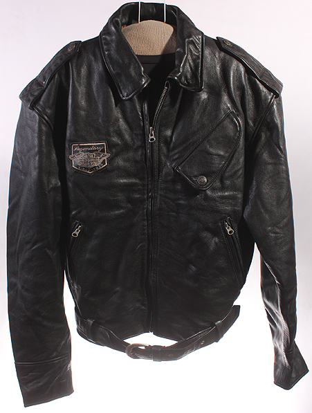 MENS HARLEY DAVIDSON SOFT LEATHER MOTORCYCLE/BIKER COAT/JACKET sz M