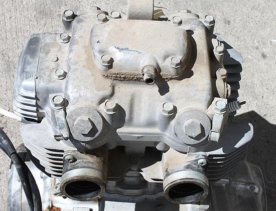 1977 Honda CJ360T CB360 CB CJ Engine Motor Parts Crank Case Cylinder