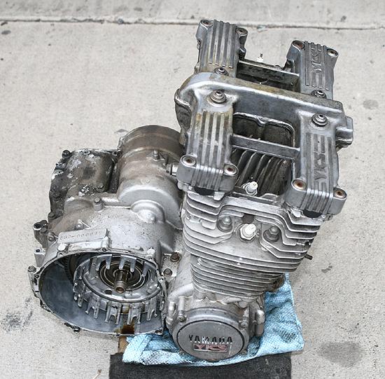 1981 YAMAHA XJ750R XJ750 SECA YICS ENGINE/MOTOR/PARTS
